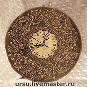 """Для дома и интерьера ручной работы. Ярмарка Мастеров - ручная работа часы """"Старая бронза"""". Handmade."""