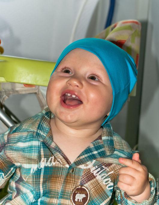Шапки и шарфы ручной работы. Ярмарка Мастеров - ручная работа. Купить Шапки для малышей. Комплект из 3-ех штук.. Handmade.