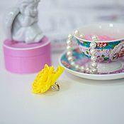 Украшения ручной работы. Ярмарка Мастеров - ручная работа Кольцо с цветком ручной работы Лолита. Handmade.