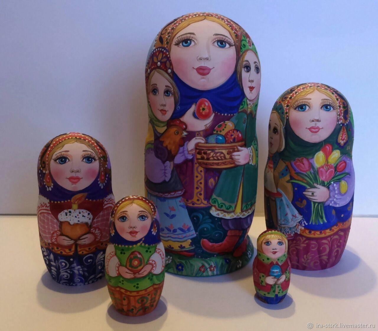 Пасха, Матрешки, Витебск,  Фото №1