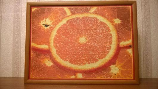 Натюрморт ручной работы. Ярмарка Мастеров - ручная работа. Купить Апельсиновое безумие. Handmade. Сочно, ярко, интерьер, подарок