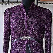 Одежда ручной работы. Ярмарка Мастеров - ручная работа Платье- пальто из кружева  PRADA. Handmade.