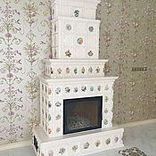 handmade. Livemaster - original item Tiled fireplace