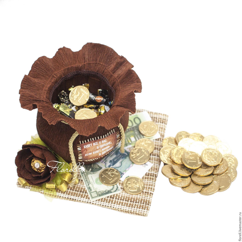 Букет из денег и конфет своими руками мастер класс фото
