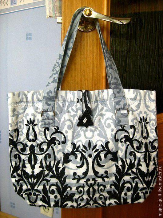 Женские сумки ручной работы. Ярмарка Мастеров - ручная работа. Купить Сумка. Handmade. Чёрно-белый, ручная работа
