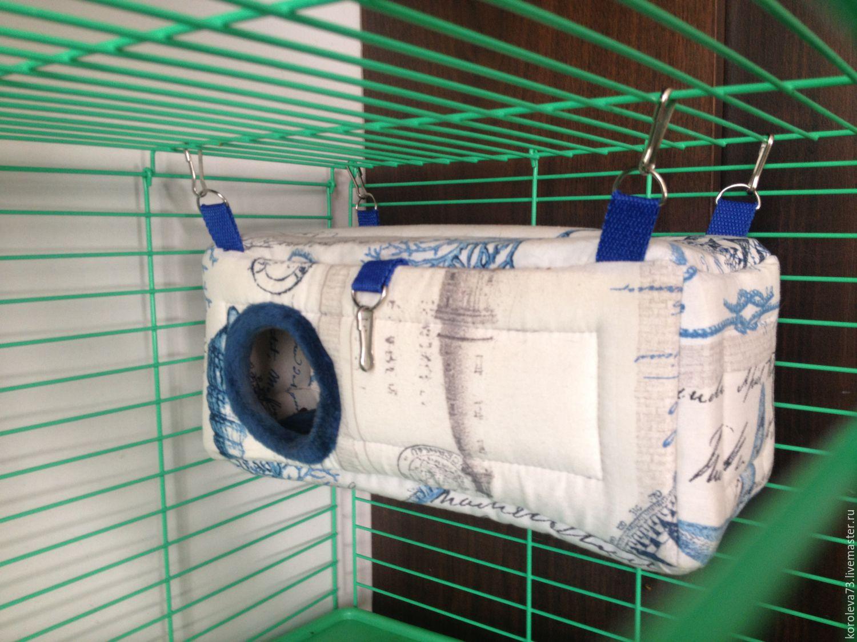 Как сделать домик для крысы 196