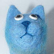 Куклы и игрушки ручной работы. Ярмарка Мастеров - ручная работа Русский Голубой кот. Handmade.