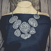 Украшения handmade. Livemaster - original item Necklace - plastron