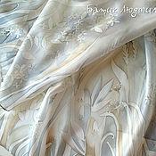Аксессуары handmade. Livemaster - original item Wedding stole for the ceremony of removing veils, silk. Handmade.