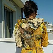 Одежда ручной работы. Ярмарка Мастеров - ручная работа Курточка с капюшоном. Handmade.