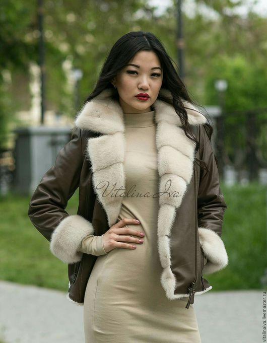 Верхняя одежда ручной работы. Ярмарка Мастеров - ручная работа. Купить Куртка зимняя. Handmade. Куртка, куртка кожаная