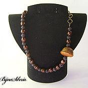Украшения handmade. Livemaster - original item A necklace of wooden beads