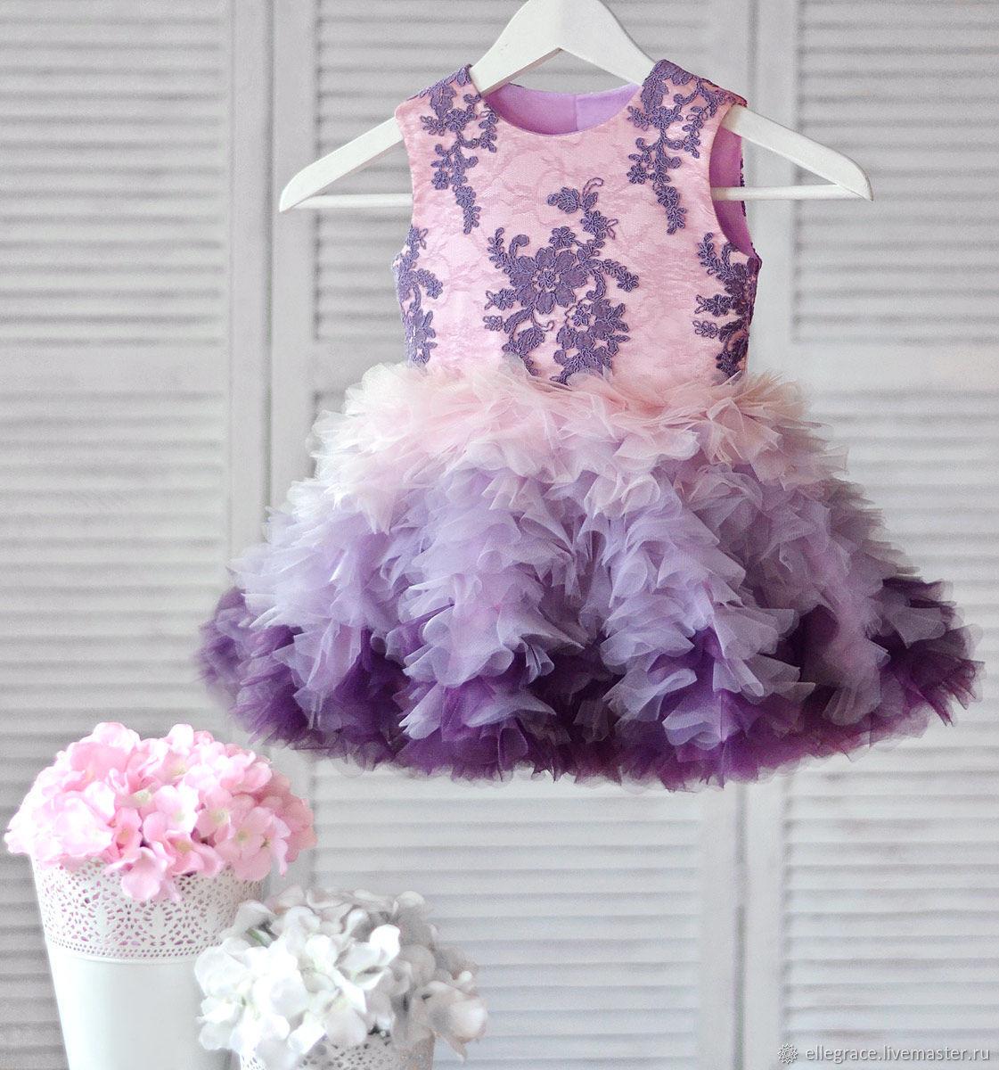 купить красивое детское платье в интернет