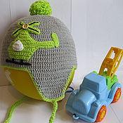 Аксессуары ручной работы. Ярмарка Мастеров - ручная работа Шапка детская  из хлопка/акрила. Handmade.