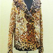 Одежда ручной работы. Ярмарка Мастеров - ручная работа Жакет САВАННА. Handmade.