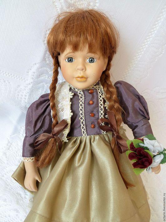 """Винтажные куклы и игрушки. Ярмарка Мастеров - ручная работа. Купить Старинная, винтажная, фарфоровая кукла с номером, """"Сьюзен"""",Германия.. Handmade."""