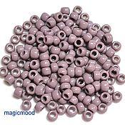 Материалы для творчества handmade. Livemaster - original item 10 grams 6/0 Toho 52 Japanese TOHO beads opaque lavender. Handmade.