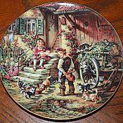 Винтаж handmade. Livemaster - original item Plates from the series