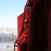 Одежда handmade. Livemaster - original item Felted top Scarlet sails. Handmade.