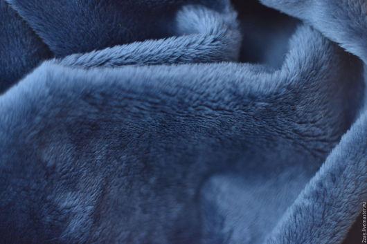 Куклы и игрушки ручной работы. Ярмарка Мастеров - ручная работа. Купить Акция ПЛЮШ-СИНИЙ (150х50 см; коротковорсный). Handmade.
