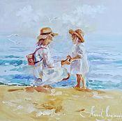 Картины и панно handmade. Livemaster - original item What is happiness - painting on canvas. Handmade.