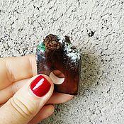 """Украшения ручной работы. Ярмарка Мастеров - ручная работа Кольцо с гранатом """"живой камень"""". Handmade."""