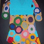 Одежда handmade. Livemaster - original item Tunic knitted motifs. Handmade.