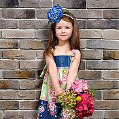 """Работы для детей, ручной работы. Ярмарка Мастеров - ручная работа Платье """"Лето в стиле Tilda"""". Handmade."""