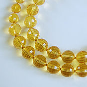 Украшения handmade. Livemaster - original item Necklace beads of citrine. Handmade.