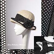 Аксессуары handmade. Livemaster - original item hats. Hat. Women`s hats. Summer hat. Straw hats.. Handmade.