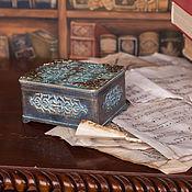 Для дома и интерьера ручной работы. Ярмарка Мастеров - ручная работа Старинная шкатулка. Handmade.