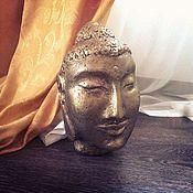 Для дома и интерьера ручной работы. Ярмарка Мастеров - ручная работа Голова Будды. Handmade.