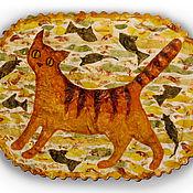 Картины и панно ручной работы. Ярмарка Мастеров - ручная работа Кошка. Handmade.
