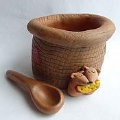 Для дома и интерьера handmade. Livemaster - original item Salt shaker