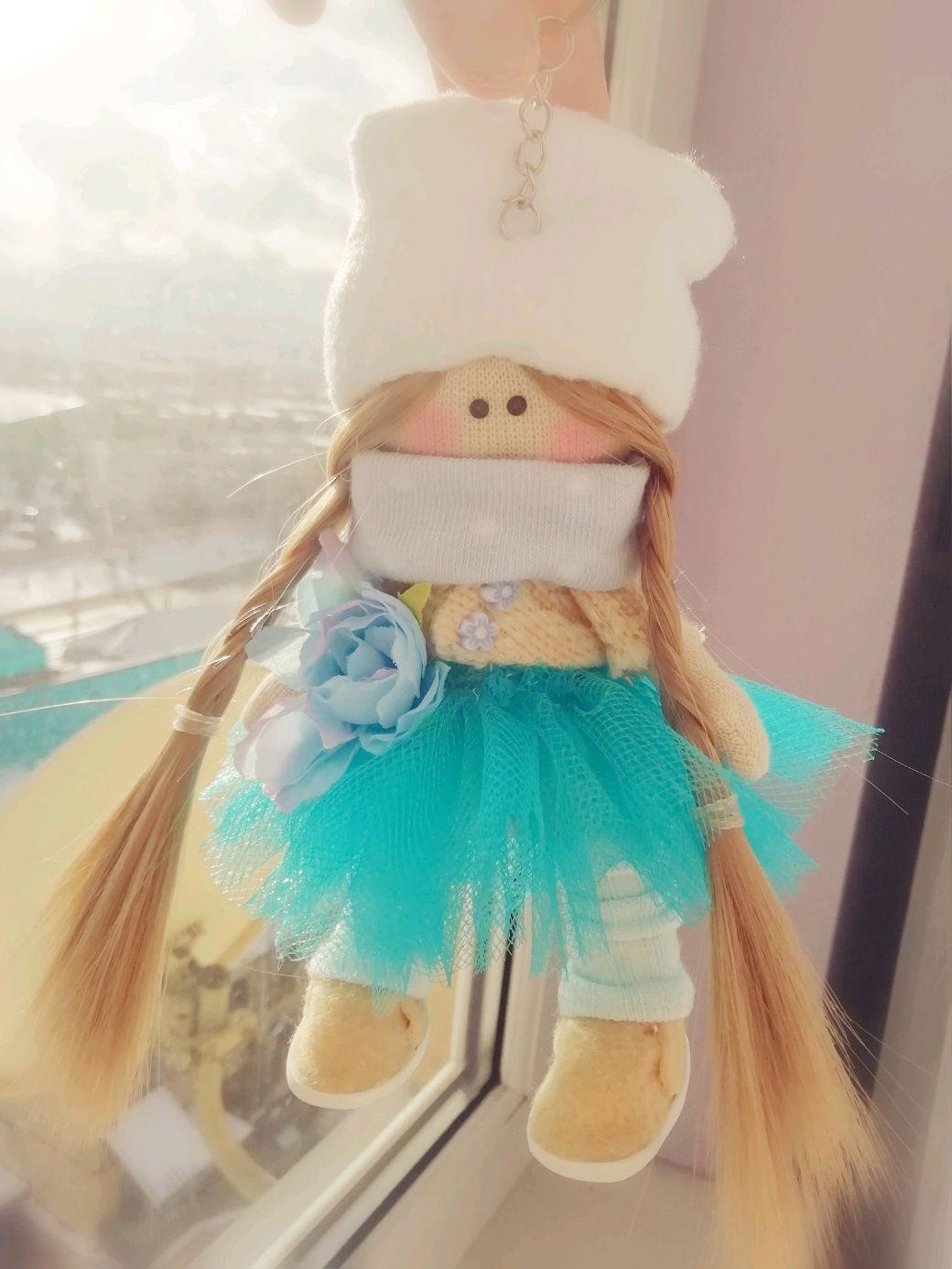 Куколка - брелок, Портретная кукла, Ставрополь,  Фото №1