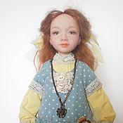 Куклы и игрушки ручной работы. Ярмарка Мастеров - ручная работа Авторская кукла Лиза. Handmade.