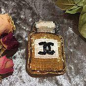 Украшения ручной работы. Ярмарка Мастеров - ручная работа Брошь Gold Chanel. Handmade.