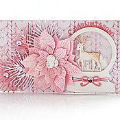 Открытки handmade. Livemaster - original item gift envelopes: Tender New Year!. Handmade.