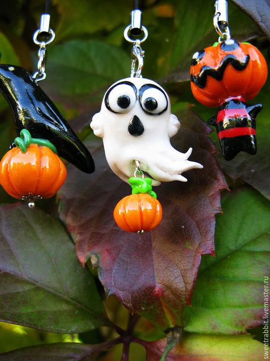 """Подарки на Хэллоуин ручной работы. Ярмарка Мастеров - ручная работа. Купить Брелоки """"Чувачки на Хэллоуин""""  цена указана за штуку!. Handmade."""
