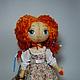 """Куклы тыквоголовки ручной работы. Ярмарка Мастеров - ручная работа. Купить Кукла авторская """"Ключ от сердца"""" 31 см. Handmade."""