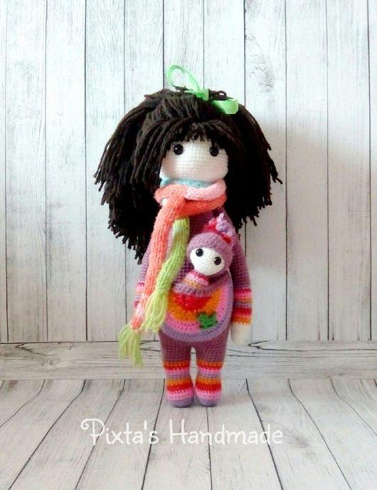 Игрушки животные, ручной работы. Ярмарка Мастеров - ручная работа. Купить Куклы по мотивам Lydia Tresselt. Handmade. Кукла