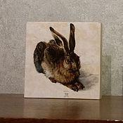 """Картины и панно ручной работы. Ярмарка Мастеров - ручная работа Панно декоративное """"Кролик"""". Handmade."""