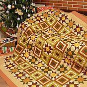 Для дома и интерьера handmade. Livemaster - original item Patchwork bedspread Ginger (set). Handmade.