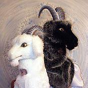 Одежда handmade. Livemaster - original item Goat and Goat. Growth advertising doll.. Handmade.