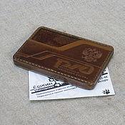 Канцелярские товары handmade. Livemaster - original item Official ID of the Russian Railways. Bageholder, organizer.. Handmade.