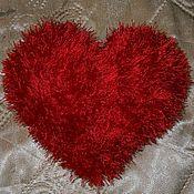 Подарки к праздникам ручной работы. Ярмарка Мастеров - ручная работа Пушистое сердечко. Handmade.
