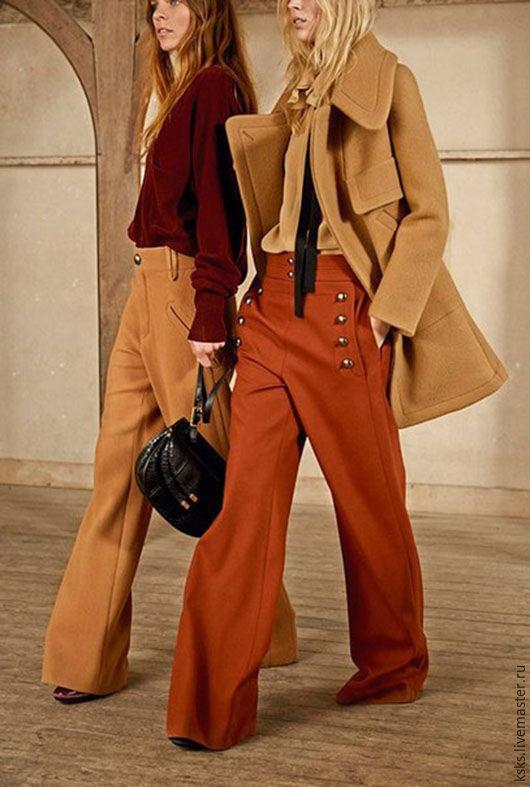 широкие брюки SHIC, возможны любые цвета и размеры, цена цказана за пошив, ткань оплачивается отдельно.