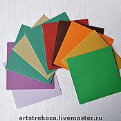Бумага ручной работы. Ярмарка Мастеров - ручная работа Заготовки из дизайнерских бумаг под Открытки. Handmade.