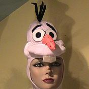 """Одежда ручной работы. Ярмарка Мастеров - ручная работа шапка """"Олаф"""". Handmade."""
