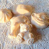 Косметика ручной работы. Ярмарка Мастеров - ручная работа Натуральное Детское  мыло с нуля (мыло игрушкой, мыло с чередой)). Handmade.